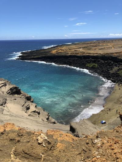 2019年9月 大人4人の詰め込みハワイ島旅 ④グリーンサンドビーチ他