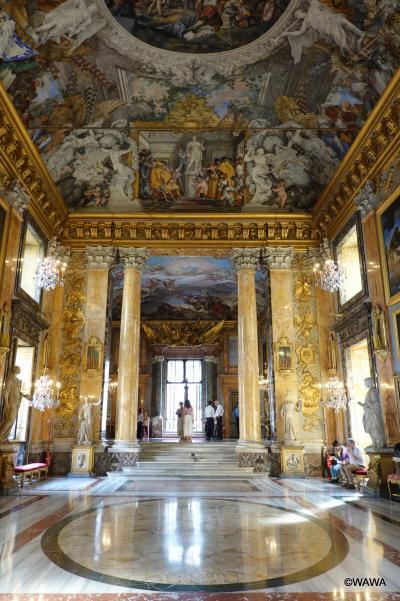 夫婦でローマ8連泊 観光3日目 映画「ローマの休日」ロケ地のコロンナ美術館ほか