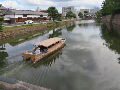 初秋の山陰めぐり(10)ぐるっと松江堀川めぐり遊覧船で水の都・松江の風情を楽しむ