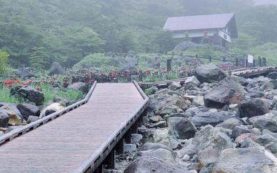 那須高原 家族旅行[ 1 ]出発~雨の殺生石&天皇陛下に遭遇!?(1日目)