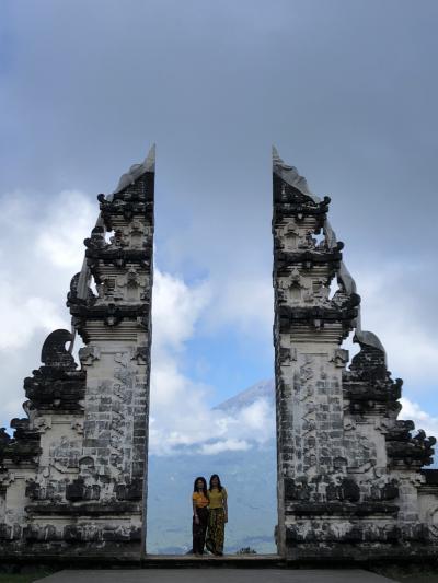 4度目のバリの旅(アメッド&ウブド8日間の旅)②天空の寺ランプヤン寺院と絶景レストランへ
