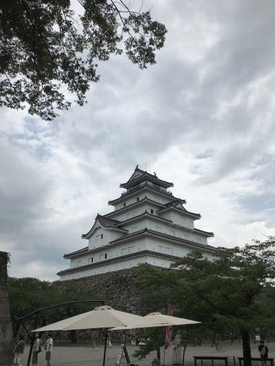 遊・湯・さんぽきっぷで鶴ヶ城まで行ってきました!