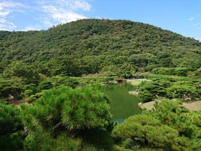 2泊3日 徳島 香川の旅 3日目はうどん屋巡りと、瀬戸大橋、栗林公園、さぬき一宮