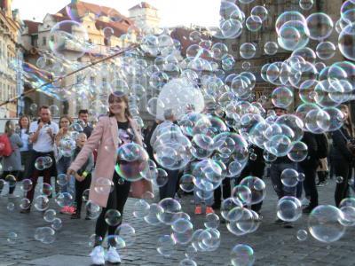 プラハの土曜はイベントいろいろ