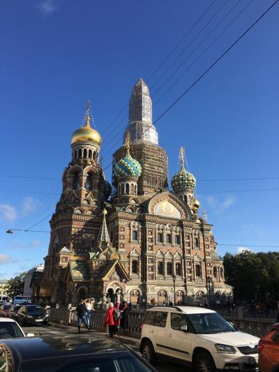 個人旅行でサンクトペテルブルク極寒の旅4泊6日