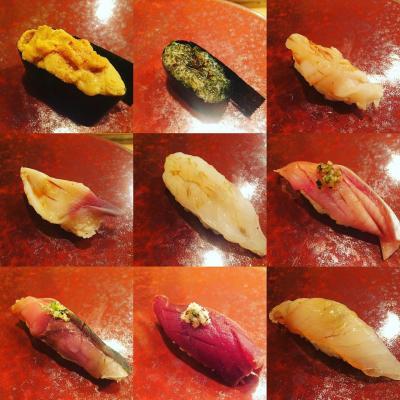 今年の夏旅 北海道 小樽と富良野  小樽ふる川と伊勢寿司