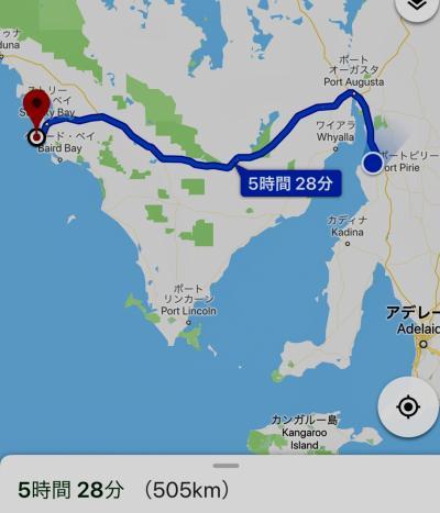 オーストラリア南部、アデレード近郊レンタカー、キャンプ旅 5 灼熱のアデレード越え