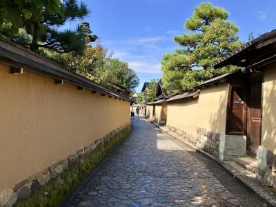 ふらっと金沢 ~ 二度目の金沢は長町武家屋敷跡とにし茶屋街 & 金沢東急ホテル・クラブラウンジ