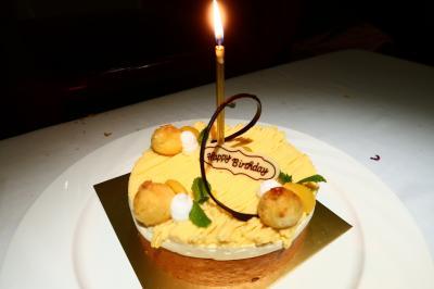 娘2歳の誕生日アモイ3★福建料理とカフェとお誕生日会 ~同安飯店・COOPER CAFE・王品台塑牛排~