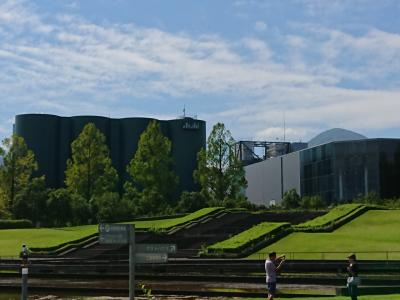アサヒビール神奈川工場 アップルワインとビール