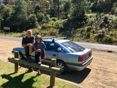 オ-ストラリア、タスマニア島。 車を借りてキャンプ旅 1 ホバート編