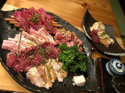 とても美味しいお肉屋専門店の焼肉屋さんで家族揃って美味しく楽しくゆっくり食事をしました。