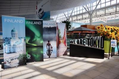 フィンランドフェア in 羽田空港国際線旅客ターミナル