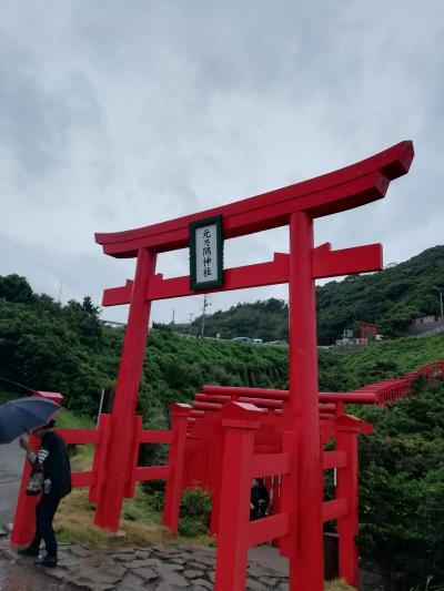 日帰りbasuツアーで山口元乃隅稲成神社にいきました