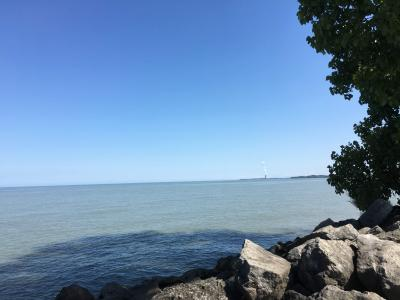 Labor Day Weekend 3連休オハイオ小旅行 ~3日目 帰路(エリー湖)