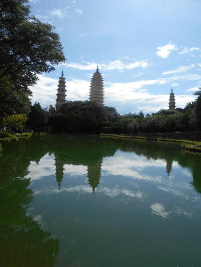 雲南省、大理古城を訪ねる(2 )崇聖寺三塔はお寺のマトリョーシカだった!(2019.9.15~17)