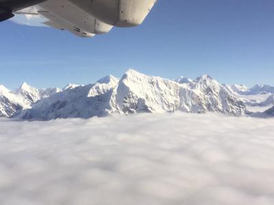 エベレスト遊覧飛行は3度目に成功!