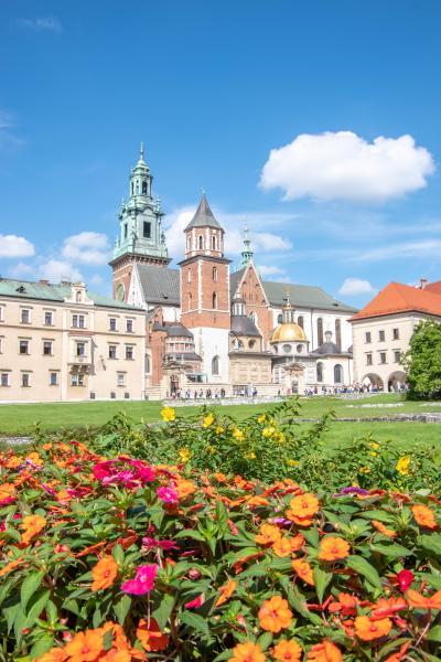 初めてのポーランド その7 クラクフ旧市街散策(ヴァヴェル城、カジミエシュ地区など)