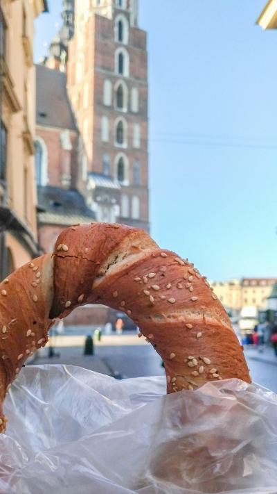 初めてのポーランド その8 クラクフ旧市街散策(食事・お土産)