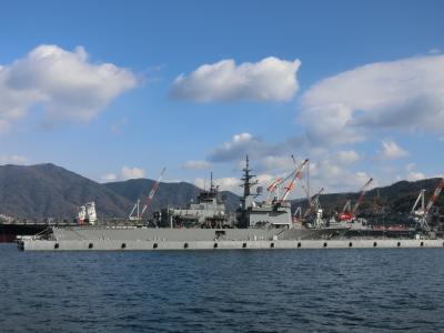 どこかにマイルで広島へ!錦帯橋と呉までまいる,艦船がすごい。呉編②