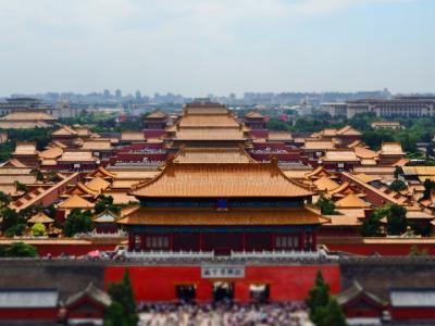 北京2019,Aug / 円明園,景山公園