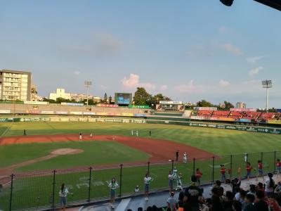 地歩に無い台湾旅行007:台南で野球観戦
