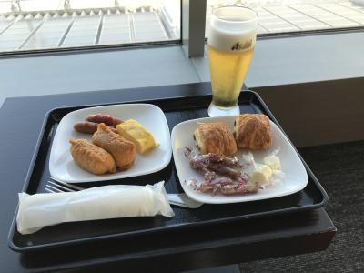 羽田空港から釜山まで長かったな~