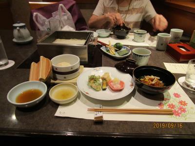 上野広小路 豆腐懐石 「梅の花」