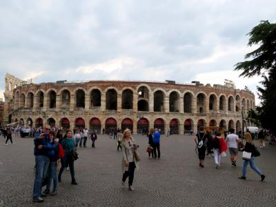 2019年 イタリア・フレスコ画の旅 マントヴァ観光の後、午後はヴェローナ観光