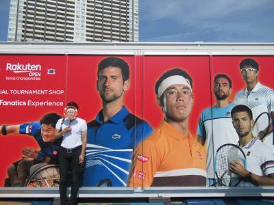 楽天OPテニス観戦だけど宿泊は舞浜で。