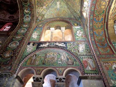 2019年イタリア・フレスコ画の旅 ラヴェンナでモザイク三昧