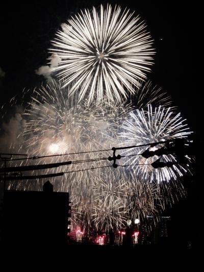 第31回なにわ淀川花火大会を今年もマンションから