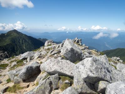 木曽駒ヶ岳(2)初めての山登り