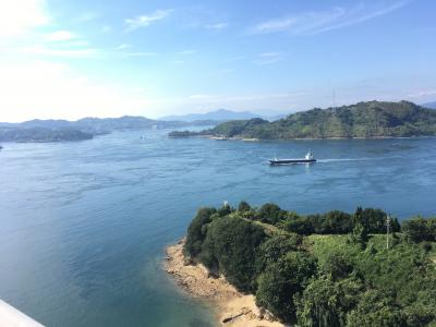 愛媛県への旅②~しまなみ海道を歩いて一番近い島へ~