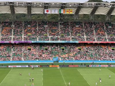 日本 対 アイルランド 19-12