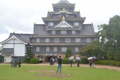 岡山城と後楽園を訪ねる