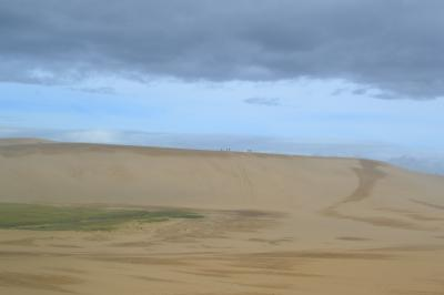 鳥取砂丘を訪ねる