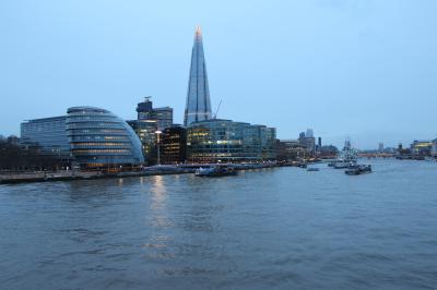 ロンドンの景色
