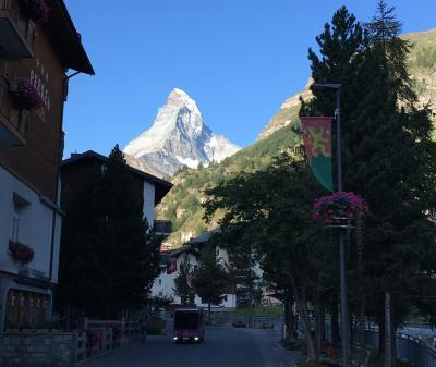 スイス アルプスの絶景とパリ、ウィーン観光18日間④-3 マッターホルン・グレイシャー・パラダイス