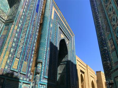 キルギスの大自然からサマルカンドの碧の世界へ、中央アジアの旅【9】サマルカンド・ブルーを堪能!(サマルカンド前編/ウズベキスタン)