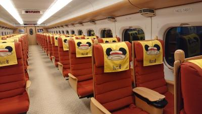 JR九州のミッキー新幹線に乗って熊本へ日帰りの旅