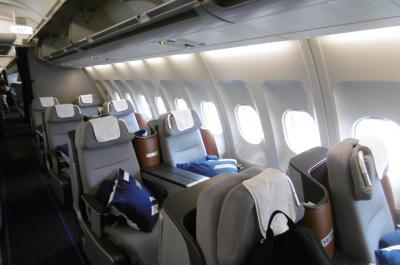 ヨーロッパ国際特急列車の旅17(ルフトハンザ航空ビジネスクラス:フランクフルト→名古屋編)