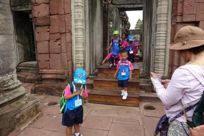 9万5千円で2週間、タイの遺跡やラオスを巡り、東南アジア初心者のシニア婦人たちをエスコートする旅(16/22)ピマイ遺跡