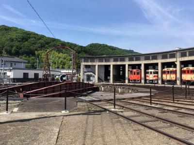 神戸から岡山日帰りドライブ1 津山まなびの鉄道館