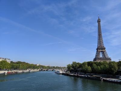 【フランス】初秋のフランス、スペイン周遊~①パリ(エッフェル塔)