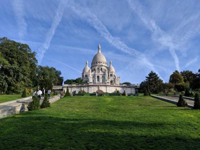 初秋のフランス、スペイン周遊~④パリ(サクレクール寺院、アンヴァリッド、オルセー美術館)