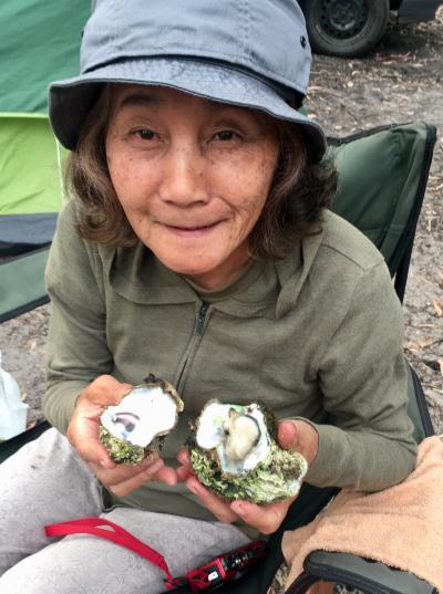タスマニア島キャンプ旅 10 ブルーニー島