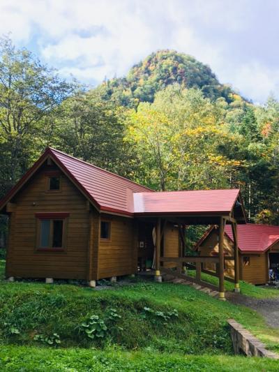札幌、秋の定山渓で子連れキャンプ!