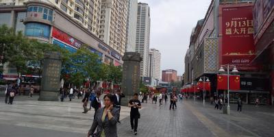 雲南省北部の古城街の大理と麗江に7泊、今年2回目訪問の昆明へ帰る(9)中心街のカルフールでお買い物。