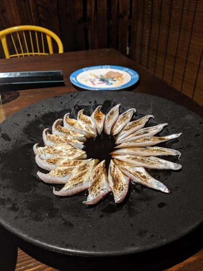 周防大島と刺身の旅